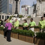 Engledow Group to Give Away 3,000 Plants on Monument Circle